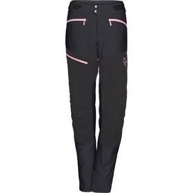 Norrøna W's Fjørå Flex1 Pants Caviar/Geranium Pink